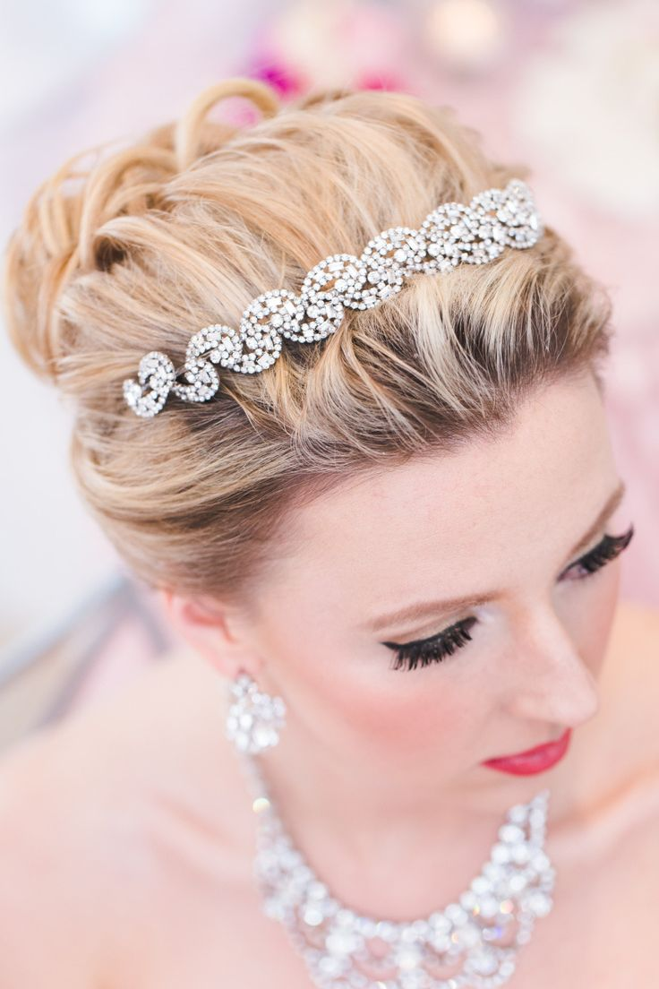 Ha hair accessories vancouver bc - Colorful Spring Wedding Inspiration At Stanley Park Chapel