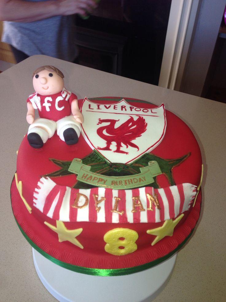 Birthday Liverpool cake