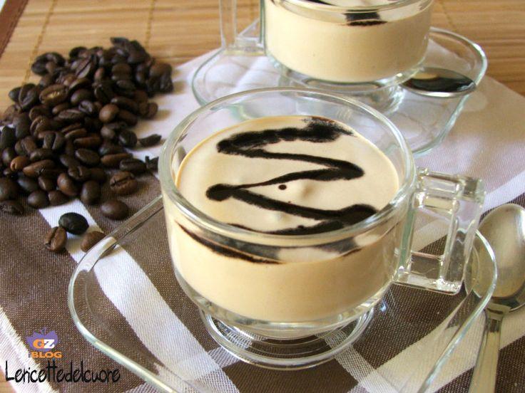 Crema di caffè fredda - le ricette del cuore - quando il profumo e il sapore deciso del caffè si trasforma in un delizioso momento di fresco e dolce piacere
