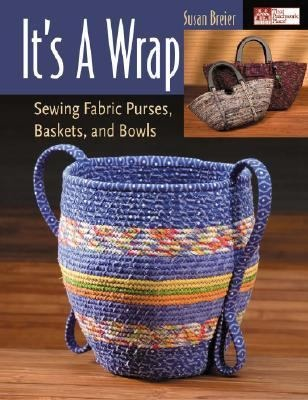 Wind, wrap, and sew fabric strips into fantastic containers! Start with a plate shape to learn the technique. Then experiment with four basic container styles to create round, oval, square, and other shapes. Create purses, baskets, and bowls in an endless variety of sizes, shapes, and colors Simply wrap fabric strips around cotton clothesline, coil into the desired shape, and secure with machine stitching.