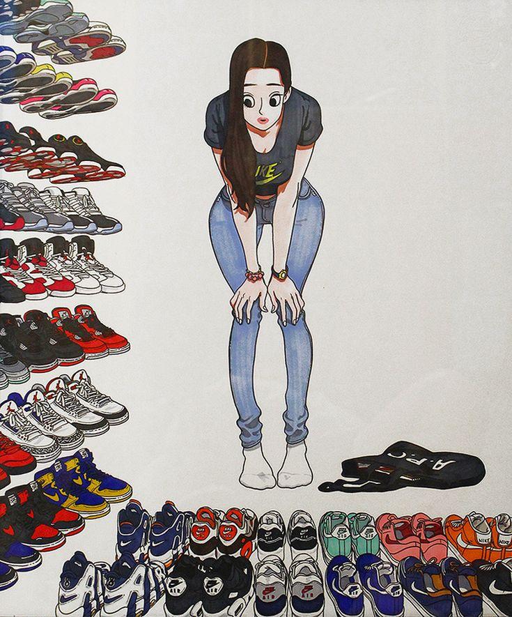 Nike Shoes Girl01 - Kim Jungyoun
