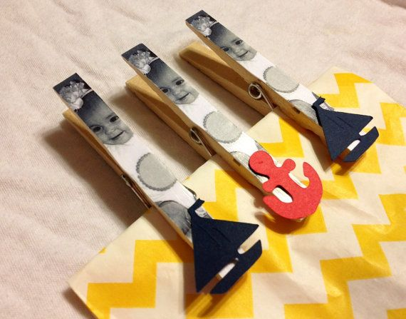 Nautical Sailor Anchor Birthday Party Favor by OneMoreSunshine, $20.00