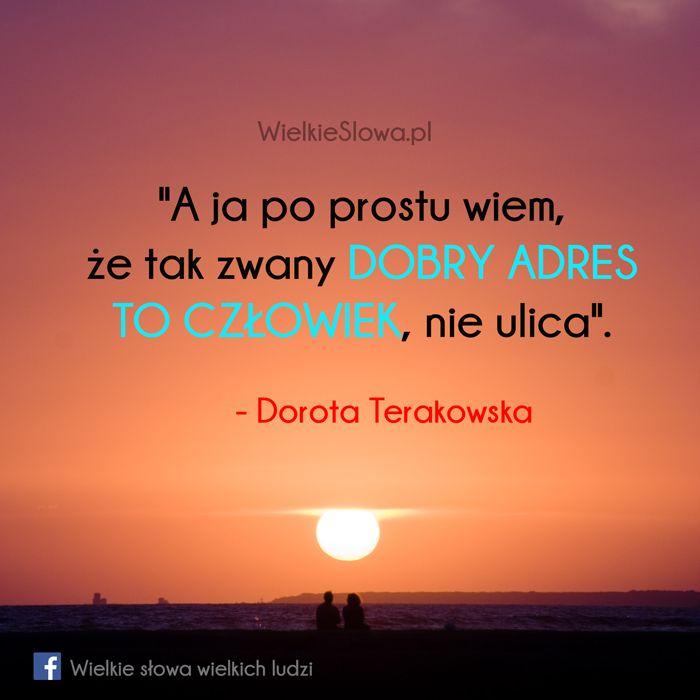 A ja po prostu wiem... #Terakowska-Dorota,  #Człowiek