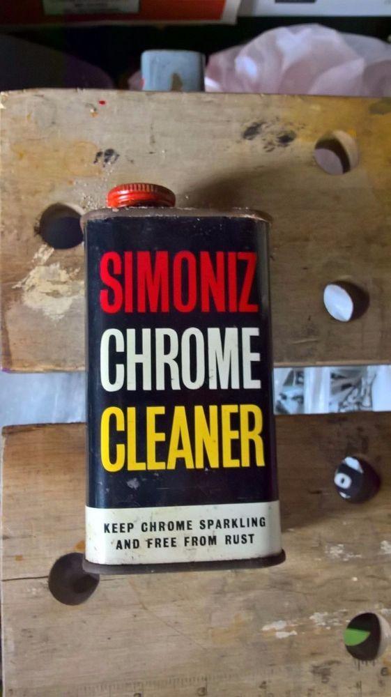 vintage garage  Simoniz chrome cleaner