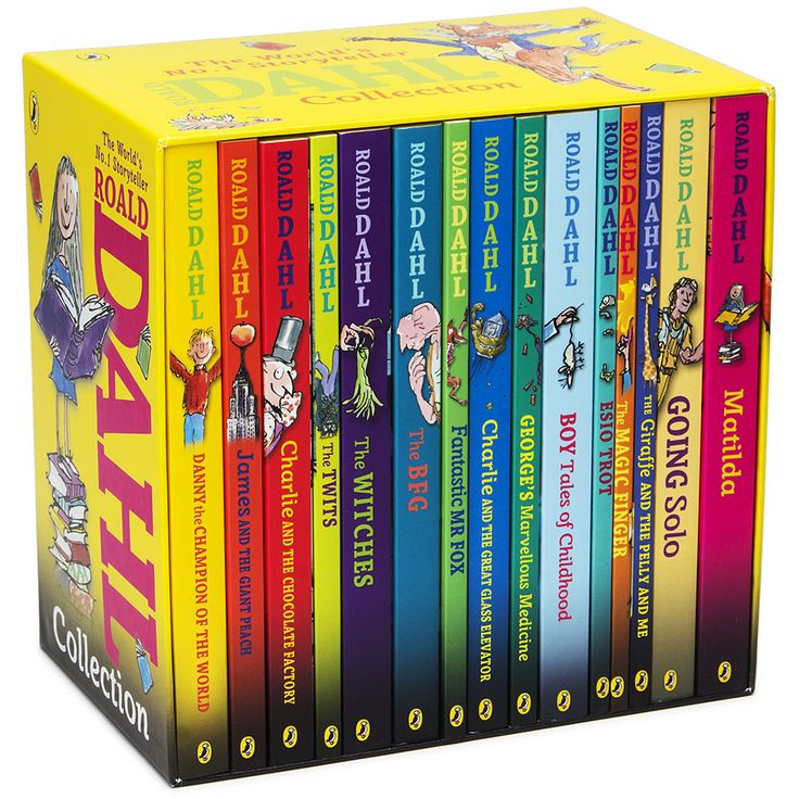 buy roald dahl book collection