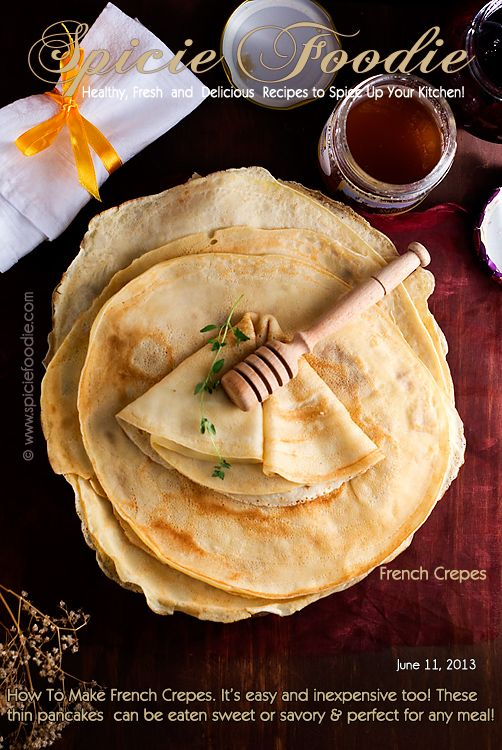 25+ Best Ideas About French Crepes On Pinterest