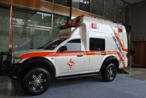 Spesifikasi Ambulance Mitsubishi Strada Triton | Karoseri Ambulance