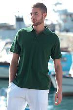 PAGAMENTO ANCHE ALLA CONSEGNA Polo Maglia T - shirt Uomo Manica Corta Abbigliamento - Abiti da Lavoro