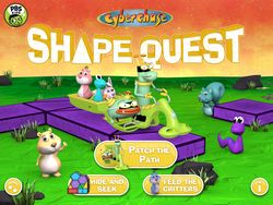 Cyberchase Shape Quest: three math-based games focused on geometry, spatial reasoning and problem solving. Free