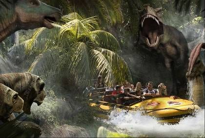 The Jurassic Park Ride Is the Most Expensive Theme Park Ride of All Time