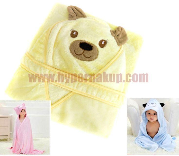 Detská osuška BEAR s kapucňou