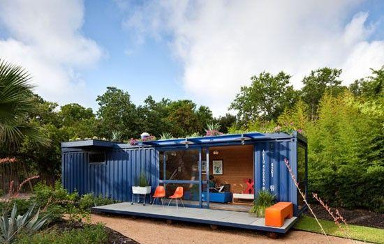 Compact en toch luxe wonen in een container