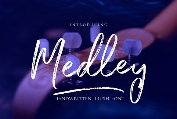 Medley Script by joelmaker on @creativemarket