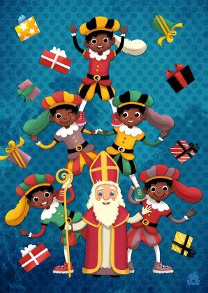 Sinterklaaskaart by Miriam Bos www.kaartje2go.nl
