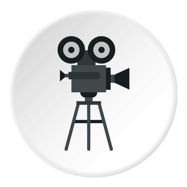 Retro Film Camera Icon Flat Style Film Clipart Camera Icons Style Icons Png And Vector With Transparent Background For Free Download Retro Film Camera Icon Film Camera