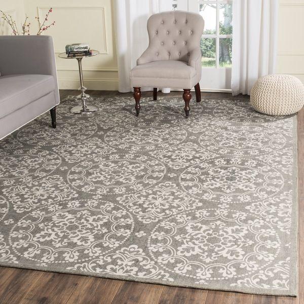 Safavieh Handmade Cedar Brook Grey/ Natural Jute Rug (8' x 10')   Overstock.com Shopping - The Best Deals on 7x9 - 10x14 Rugs