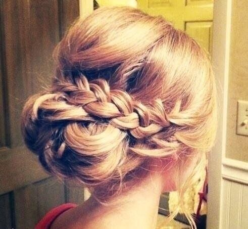 different hair style for prom