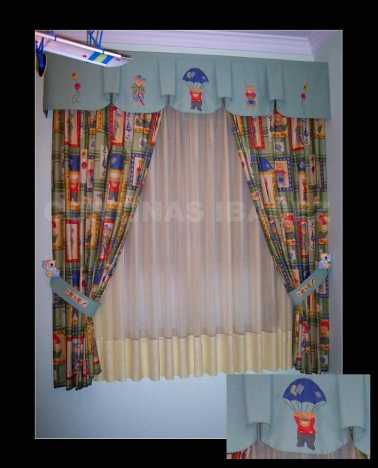 Mejores 92 im genes de cortinas en pinterest visillos - Alzapanos para cortinas ...