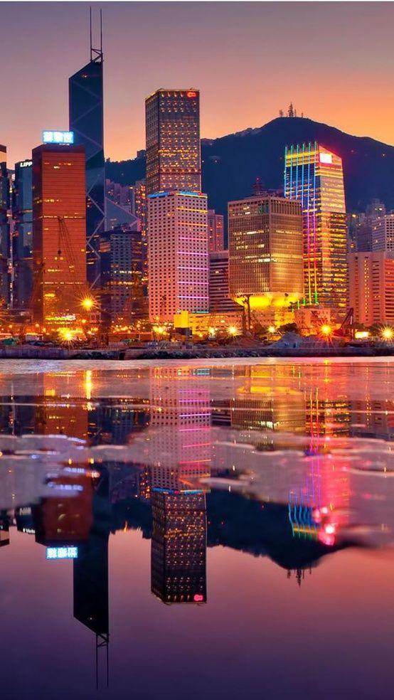 香港の街が美しい夕焼けは生で見て欲しい。香港 旅行・観光の見所を紹介!