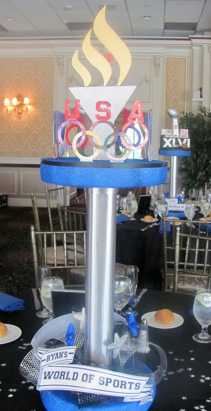 Ryan's World of Sports Olympic Centerpiece