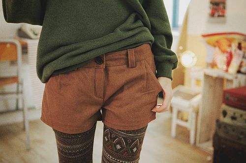 Cute! Except my legs aren't that thin, so the pattern would look jacked up.