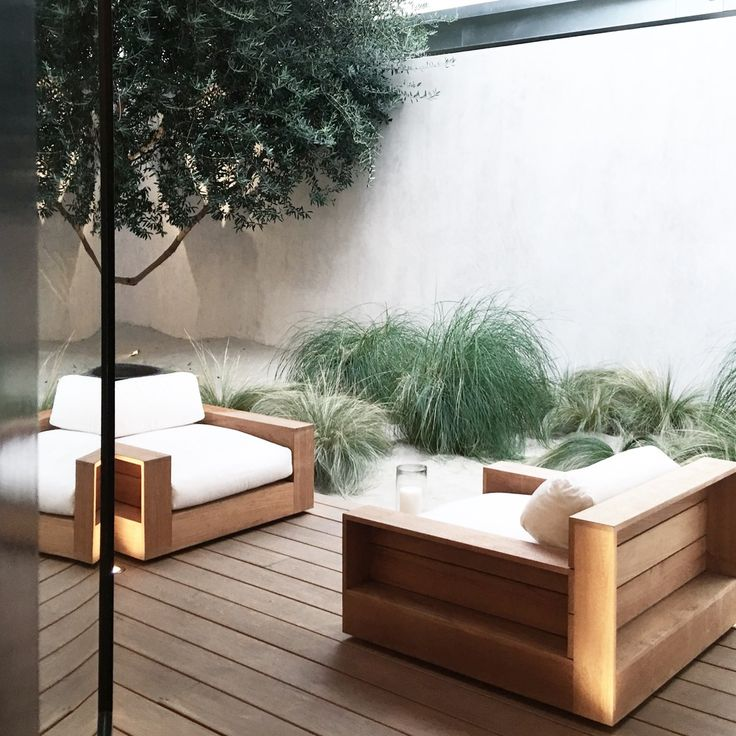 Beautiful And Modern Outdoor Furniture Garden Ideas: 20+ Best Ideas About Outdoor Lounge On Pinterest