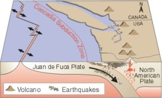The geometry of large faults has been the focus of recent research, which has found that the big earthquakes occur where faults are mostly flat.