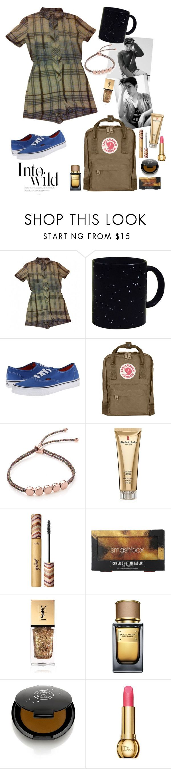"""""""that time I didn't want to go home"""" by elliewriter ❤ liked on Polyvore featuring ASOS, Vans, Fjällräven, Monica Vinader, Elizabeth Arden, tarte, Smashbox, Yves Saint Laurent, Dolce&Gabbana and Rituel de Fille"""