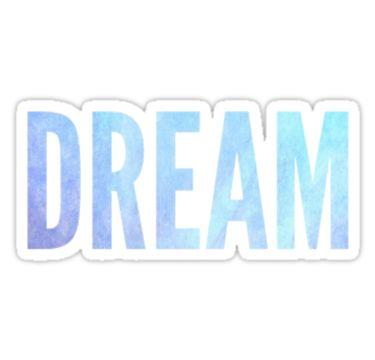 One direction dream sticker