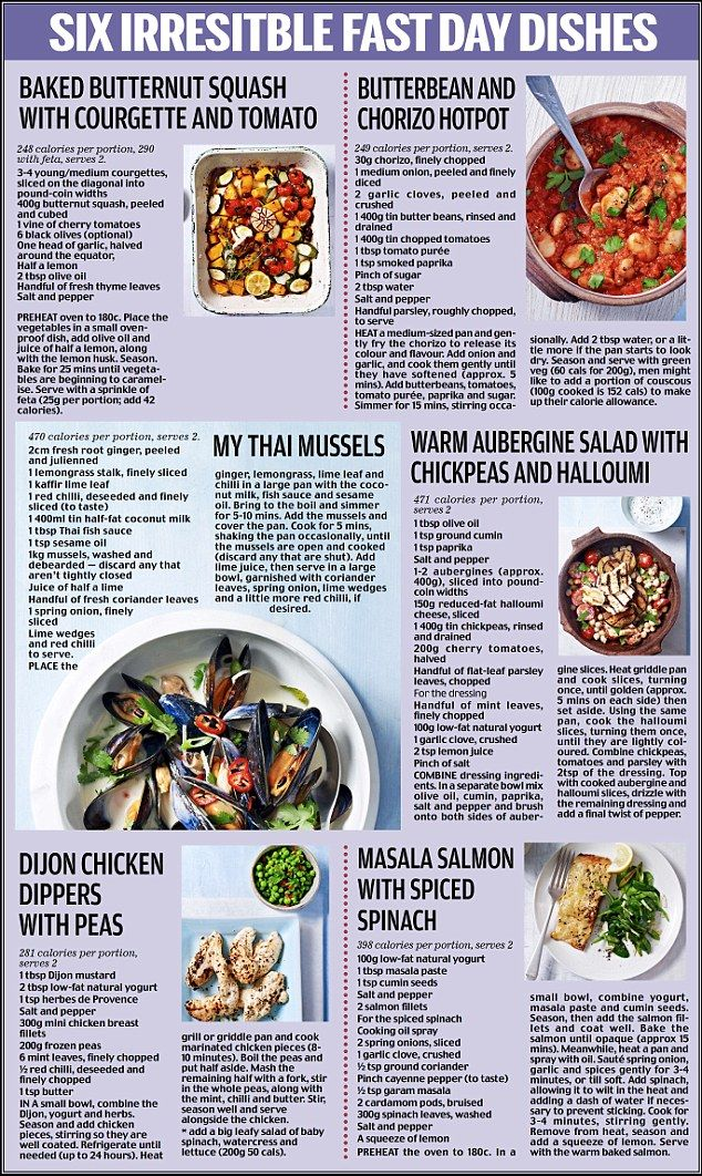 Fast Diet recipes and simple tips mean you can still enjoy mealtimes | Daily Mail Online