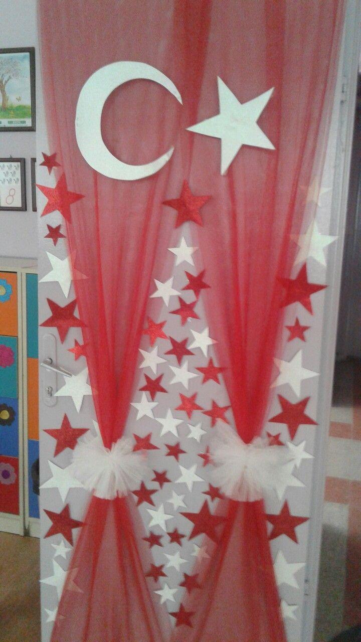 Kapımız 29 Ekim Cumhuriyet bayramı