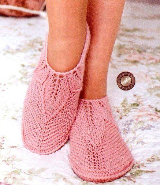 носки сапоги спицы схемы | VK: