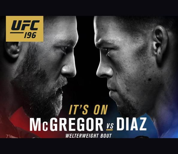 Nate Diaz to Fight Conor McGregor at UFC 196 in Welterweight Bout - ITS OOON #TeamMcGregoat #ForTheWin