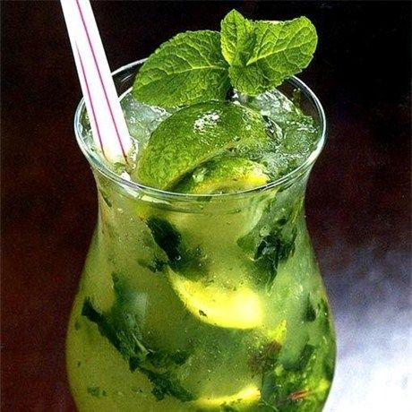 favorite drink, no blending, no rediculous fruit. Just good old cane sugar, lime and mint
