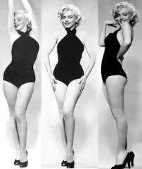 Marilyn Monroe einteiliger Badeanzug 28