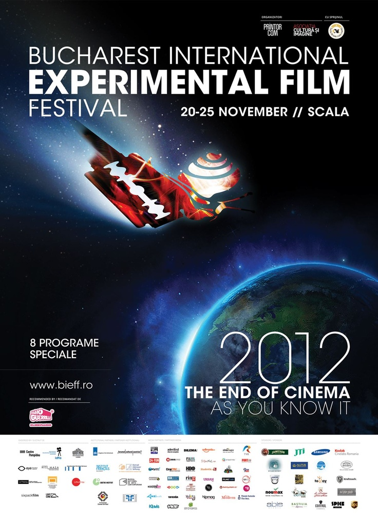 Bucharest International Experimental Film Festival 2012 @ Bucuresti