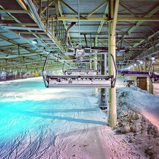 SnowWorld Zoetermeer is an indoor ski complex