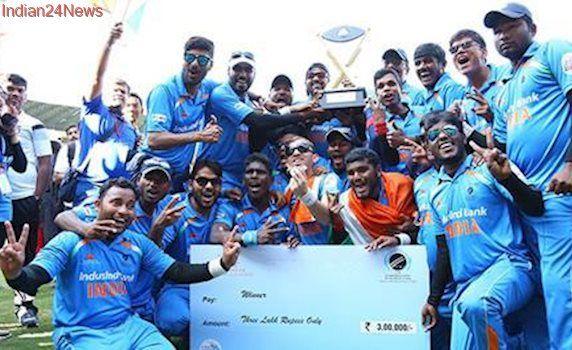 Prime Minister Narendra Modi congratulates blind cricket team for T20 World Cup win