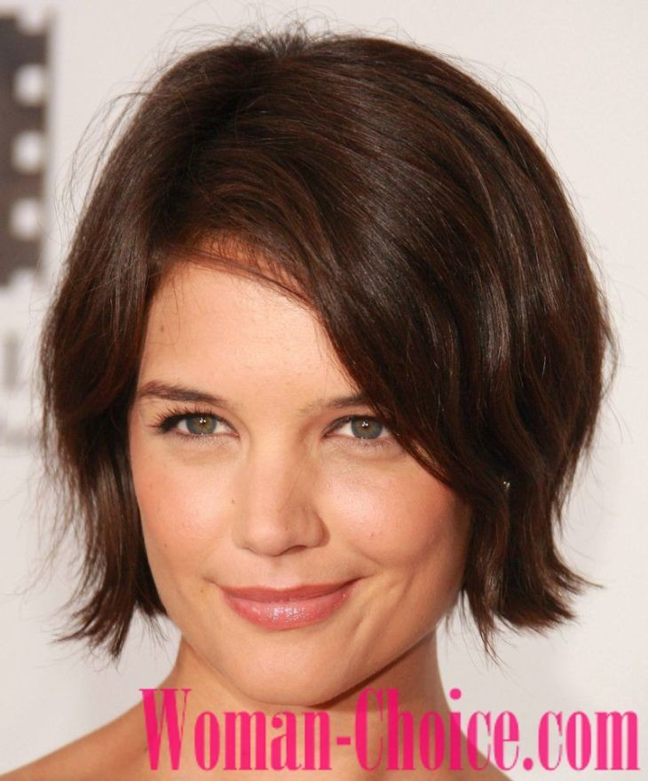 Trendy Haircuts For Hair Of Medium Length 2019 100 Photos Womanchoice Online M Short Hair Styles For Round Faces Thick Hair Styles Square Face Hairstyles