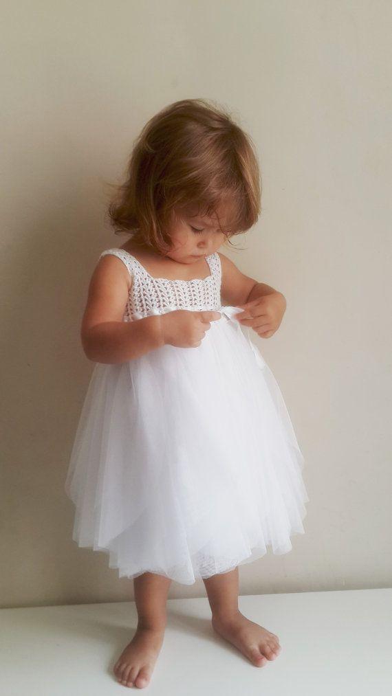Baby Tulle Dress with Empire Waist and Stretch von AylinkaShop