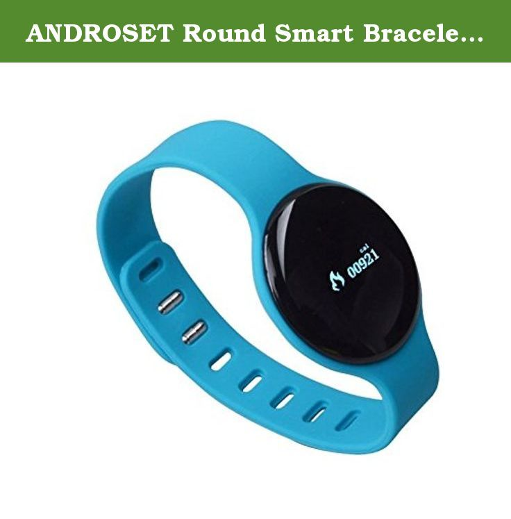 ANDROSET Round Smart Bracelet Health Watch Fitness Tracker. ANDROSET Round sleep monitor activity tracker intelligent bracelet bluetooth 4.0 pedometer smart bracelet Round shape calories bluetooth 4.0 bracelet smart band silicon wristband Fuctions as follows: 1. Daily step function 2. Steps daily goal setting and the display of completed progress 3. Calories calculation 4. Built-in calendar, clock display 5. Sleep quality monitoring, silent alarm clock 6. OLED hd display 7. Rechargeable...