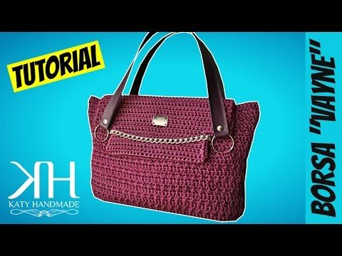 "TUTORIAL BORSA UNCINETTO ""Vayne"" 