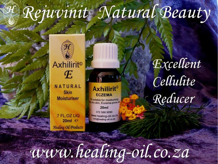 Did you know that eczema clients have found that Axhilirit E is also an excellent cellulite reducer? www.healing-oil.co.za