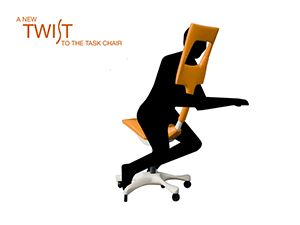 swivel office chair kneeling ergonomic