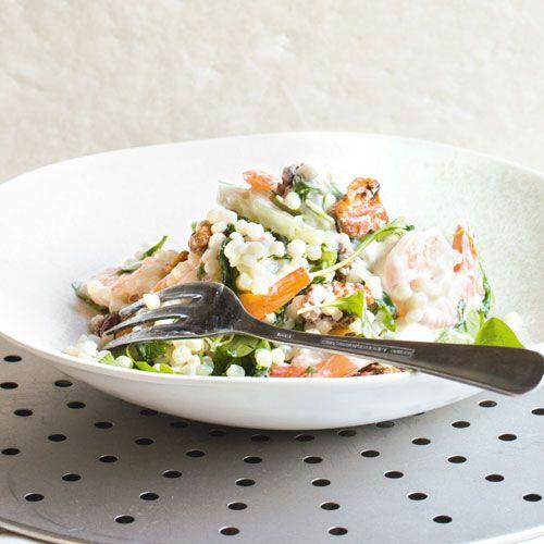 Prawns, fennel & couscous