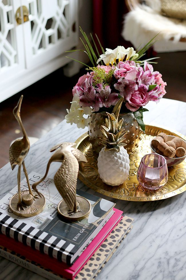 Coffee Table Styling.