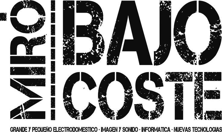 Logo de la Nueva enseña de la Compañia .  Electrodomesticos Miro se convierte a  MIRO BAJO COSTE