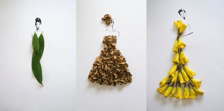 Fashion in Leaves. Tang Chiew Ling #Malaysia #fashion #sustainability
