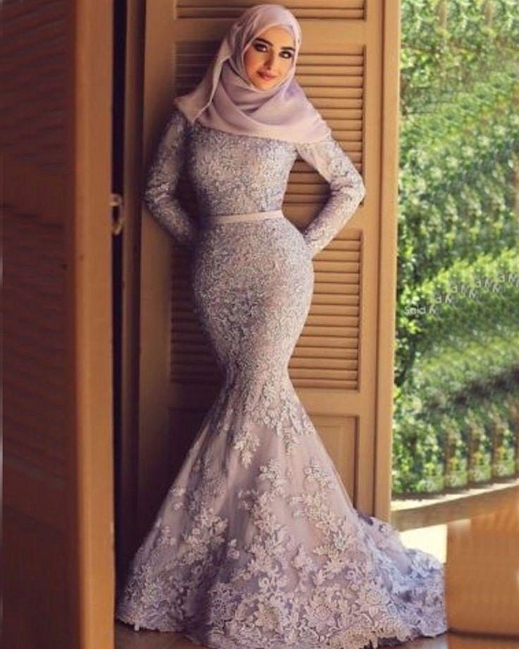 Купить товарМусульманин дубай арабские длинные рукава вечернее платье 2016 сказал Mhamad элегантный русалка платье с аппликациями и фата саудовская арабский в категории Вечерние платьяна AliExpress.                                             Шифон                    Атлас                    Тафта