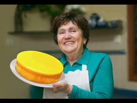 Тортa Лимонный мусс - Рецепт муссового торта от Бабушки Эммы - YouTube Zitronen Mousse auf Basis einer italienischen meringue